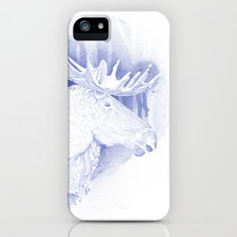 Norwegian moose iPhone Case
