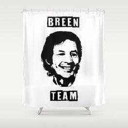 Breen Team Shower Curtain