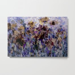 The Visionary Poetry Abstract I Metal Print
