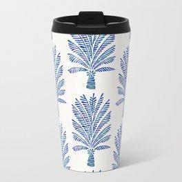 Palm Tree – Navy Palette Travel Mug