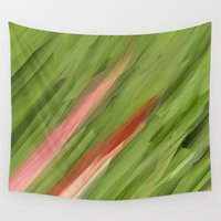 grass Wall Tapestries featuring Grass by Paul Kimble