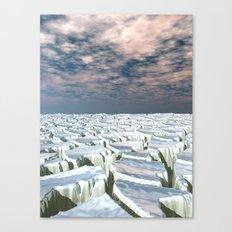 Fragmented Landscape Canvas Print