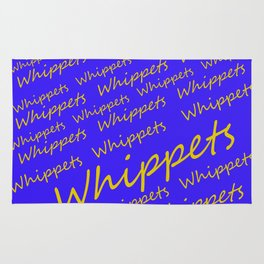 Whippets Logo Rug