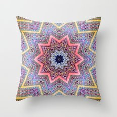 Mandala Faaa Raaa Oooon  Throw Pillow