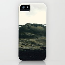 Car Ride Through Icelandic Beauty iPhone Case
