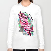 make up Long Sleeve T-shirts featuring Make up by DIVIDUS DESIGN STUDIO