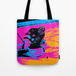 And the Puck Stops Here! - Hockey Goalie Tote Bag