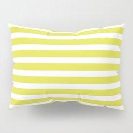 Pastel Yellow Stripes Pillow Sham