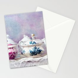 VINTAGE CHINA Stationery Cards