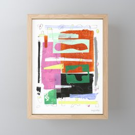 October Air I Framed Mini Art Print