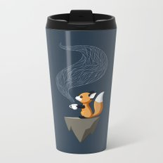 Fox Tea Metal Travel Mug