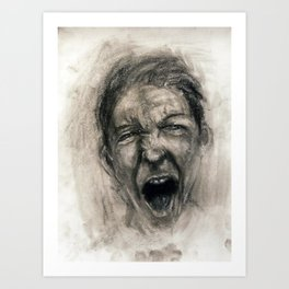 Scream #16 Art Print