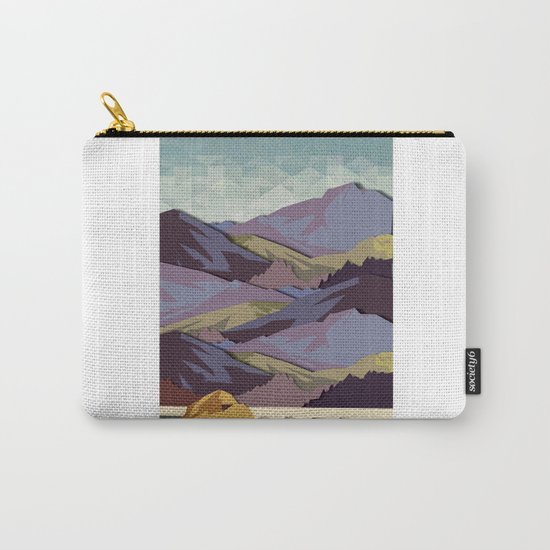 The Great, Great Night Mountain No. 10 Carry-All Pouch