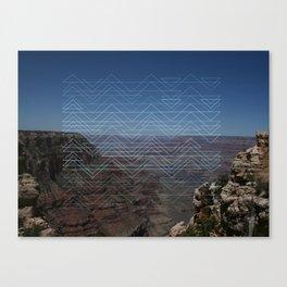 Grand view Canvas Print