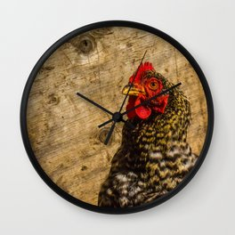 Chicken Time Wall Clock