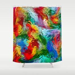 Magic Carpet Ride Abstract Shower Curtain