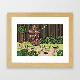 'Hansel and Gretel' Framed Art Print