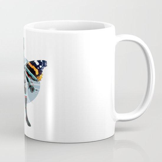 Build a Woman - Cut and Glue · Miss R · the dark side · dark ground Coffee Mug