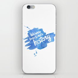 History Maker {Yuri on Ice} iPhone Skin