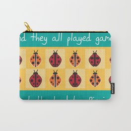 Ladybug Picnic Carry-All Pouch