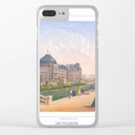 Les tuileries Paris France Clear iPhone Case