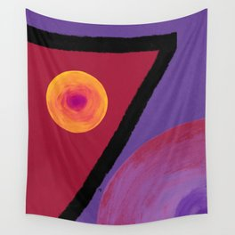 Ruby Seven Wall Tapestry