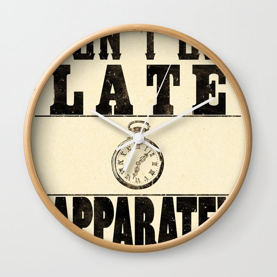 Apparate! Wall Clock