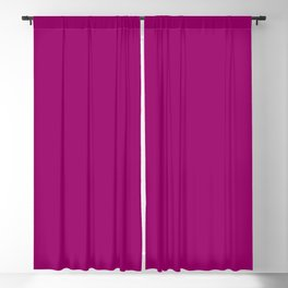 Now MAGENTA solid color Blackout Curtain