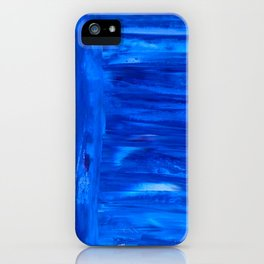 blue canvas azul iPhone Case