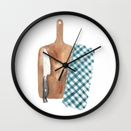 Kitchen Board Wall Clock