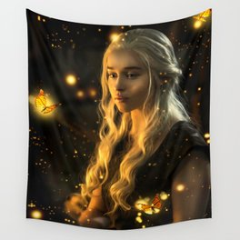 Mother of butterflies Wall Tapestry