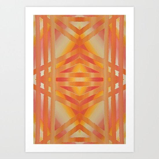 Greca 4x4 Extended version Art Print