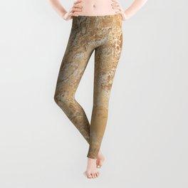 Mud Marble Texture Leggings