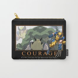 """INK-SPIRATION!: """"Courage"""" Carry-All Pouch"""