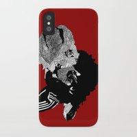 alpaca iPhone & iPod Cases featuring Alpaca by caseysplace