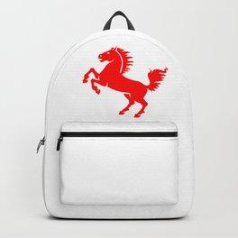 A Blazing Horse Backpack
