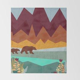 Peak Throw Blanket