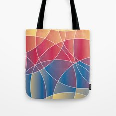 Sunset Curves Tote Bag
