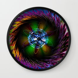 Creations in the color spectrum of the rainbow 1 Wall Clock