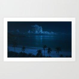 Ocean Storms Art Print