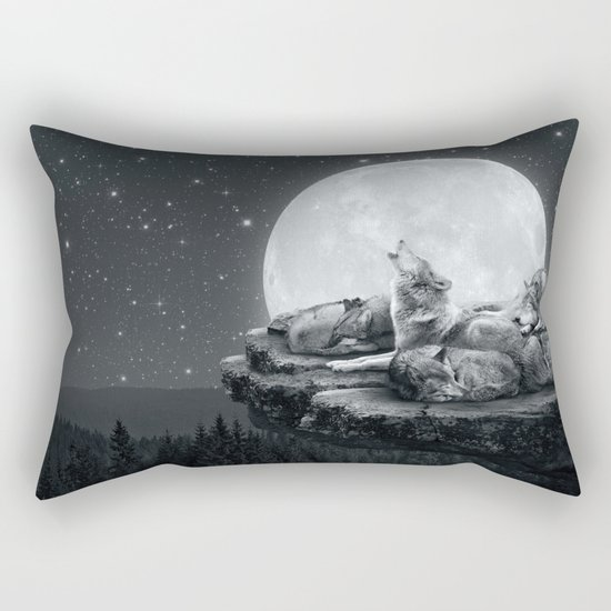 Echoes of a Lullaby Rectangular Pillow