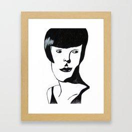 women from 1920 Framed Art Print