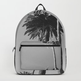 Palm Trees (Black and White) Backpack