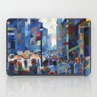city iPad Cases featuring City by Emma Reznikova