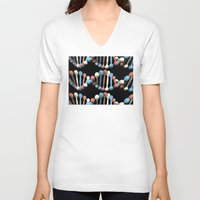dna V-neck T-shirts featuring Patriot DNA by politics