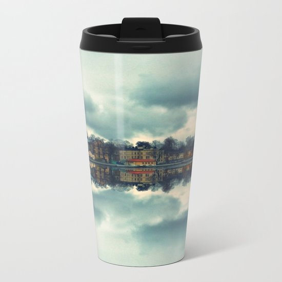 Stockholm upside-down Metal Travel Mug
