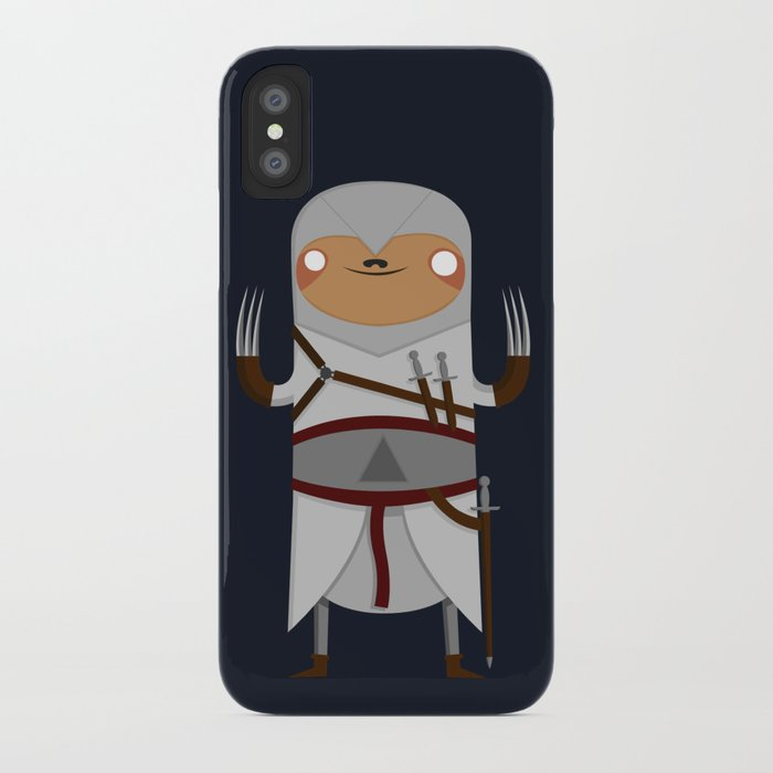 sloth iphone case assassin sloth iphone by bakus society6 12989