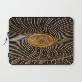 Rosace in #London Laptop Sleeve
