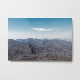 Old Rag Mountain in Shenandoah Virginia Metal Print