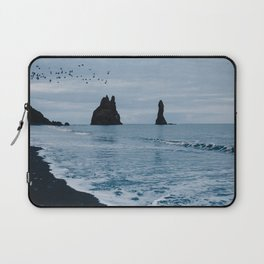 Iceland's Black Sand Beach Laptop Sleeve